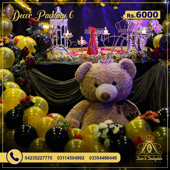 Decor Package 6000 6