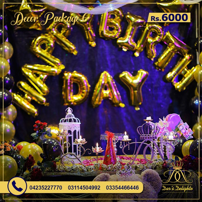 Decor Package 6000 7
