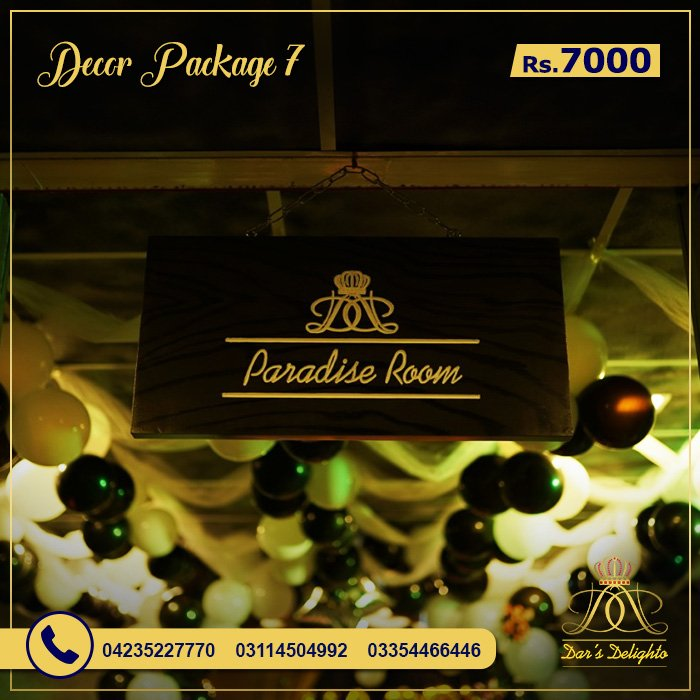 Decor Package 7000 5