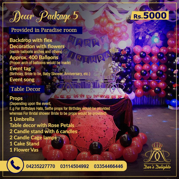 Decor Package 5000 1