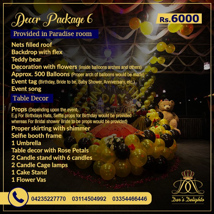 Decor Package 6000 1