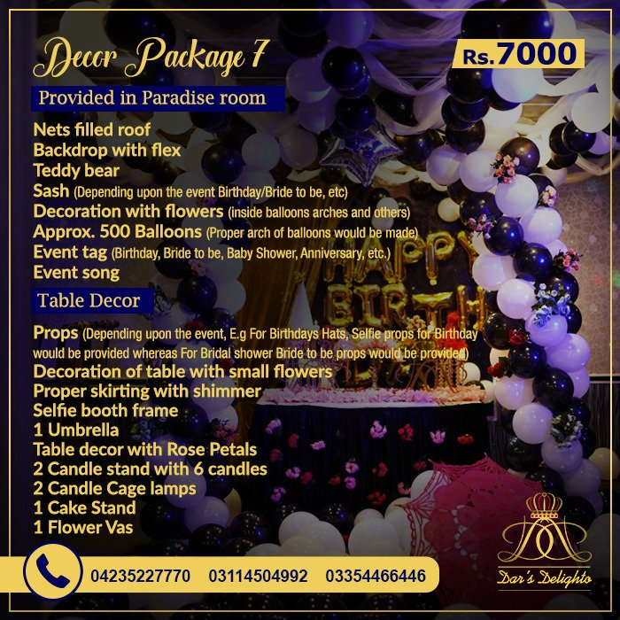 Decor Package 7000 1